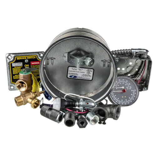 Water Trim for WTGO Boilers, Less Control - Series 4 Product Image