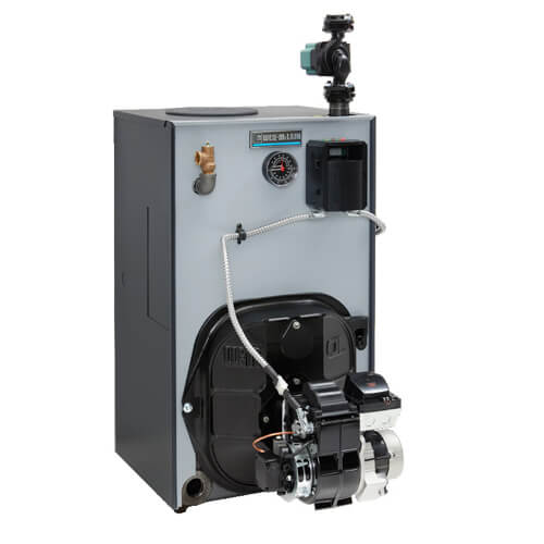 WTGO-5R - 128,000 BTU Output Cast Iron Gold Oil Boiler w/ Tankless Heater  - Series 4 (NG) Product Image