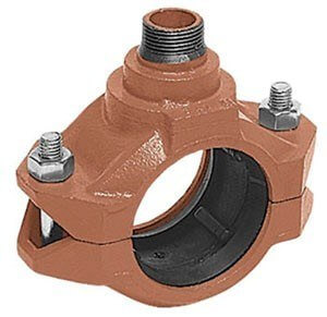 "7042F Outlet Coupling, 1-1/2"" Run, 1"" Outlet Product Image"