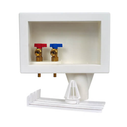 Eliminator F1807, Bottom Mount Washing Machine Outlet Box, Single Lever (Standard Pack) Product Image