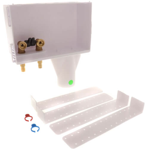 F1960 PEX Noham Washing Machine Outlet Box, 1/4 Turn (Contractor Pack) Product Image