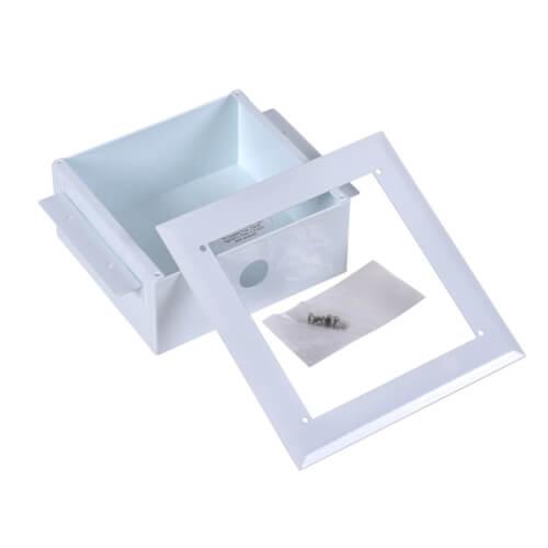 Metal Plain Ice Maker Outlet Box, No Valves (Standard Pack) Product Image