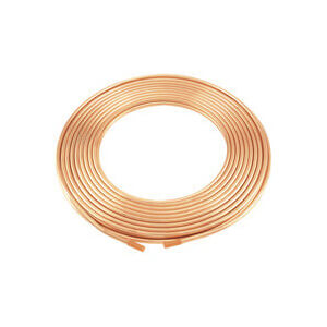 "3/8"" x 60' Type L Copper Tubing Coil Product Image"