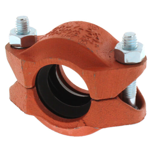 """1-1/4"""" 7001 Grooved Coupling w/ EPDM Gasket Product Image"""