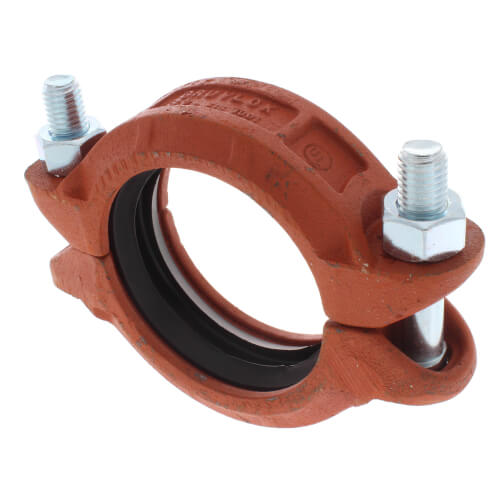 "3-1/2"" 7001 Grooved Coupling w/ EPDM Gasket Product Image"