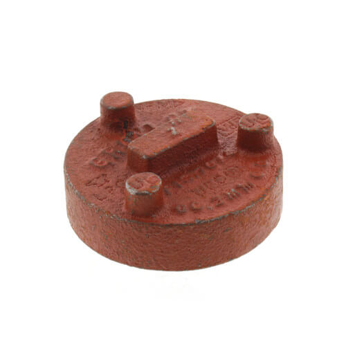 "2"" 7074 Grooved Cap Product Image"