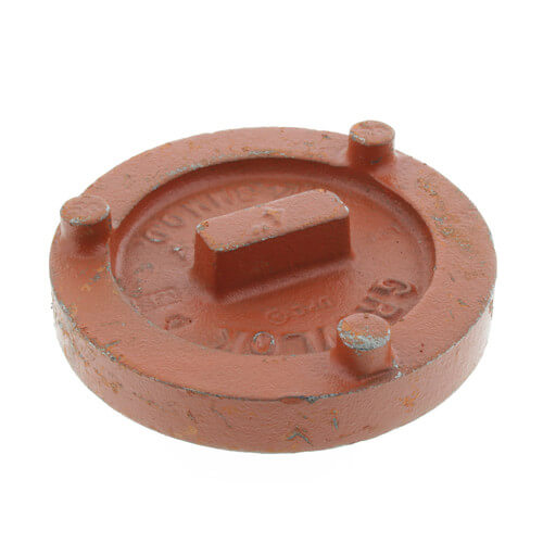 "4"" 7074 Grooved Cap Product Image"