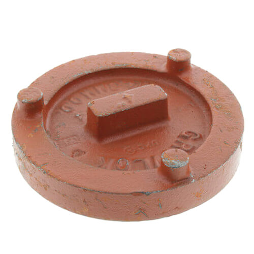"""5"""" 7074 Grooved Cap Product Image"""