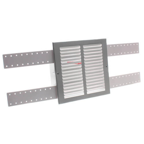 Sure-Vent Wall Box with Metal Grille Faceplate Product Image