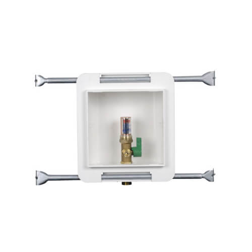 Fire Rated Copper Sweat Ice Maker Outlet Box w/ Water Hammer Arrestor, 1/4 Turn, Low Lead (Standard Pack) Product Image