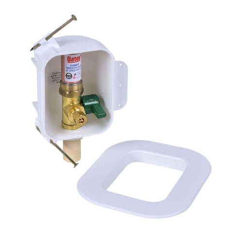 I2K CPVC Ice Maker Outlet Box w/ Water Hammer Arrestor, 1/4 Turn, Low Lead (Contractor Pack) Product Image