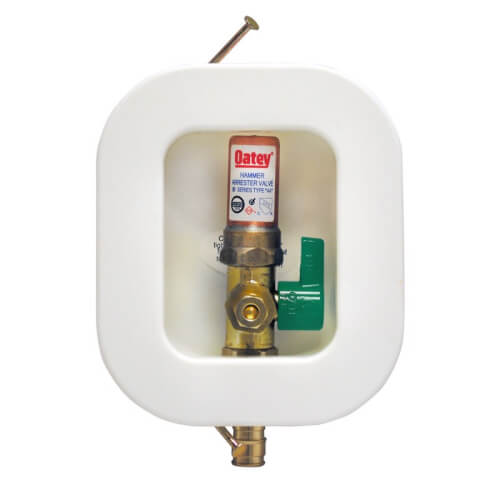 I2K Expansion PEX Ice Maker Outlet Box w/ Water Hammer Arrestor, 1/4 Turn, Low Lead (Contractor Pack) Product Image