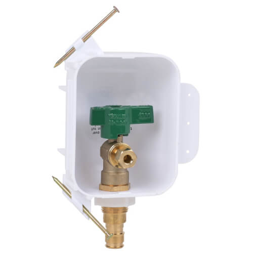 I2K Expansion PEX Ice Maker Outlet Box w/ 1/4 Turn, Low Lead (Contractor Pack) Product Image