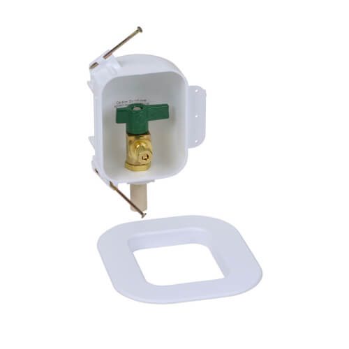 I2K CPVC Ice Maker Outlet Box w/ 1/4 Turn, Low Lead (Standard Pack) Product Image