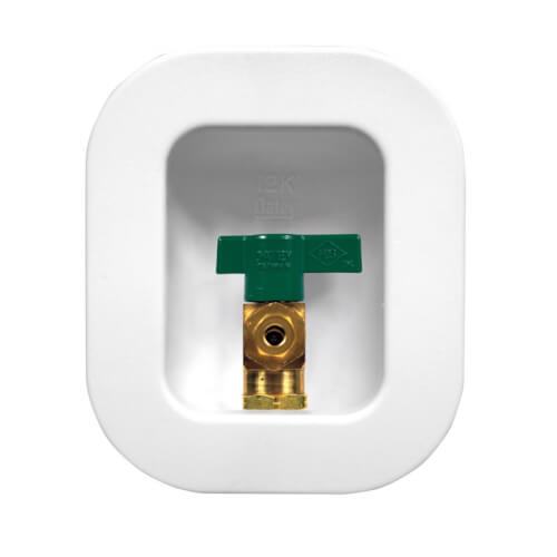 I2K Copper Ice Maker Outlet Box w/ 1/4 Turn, Low Lead (Standard Pack) Product Image