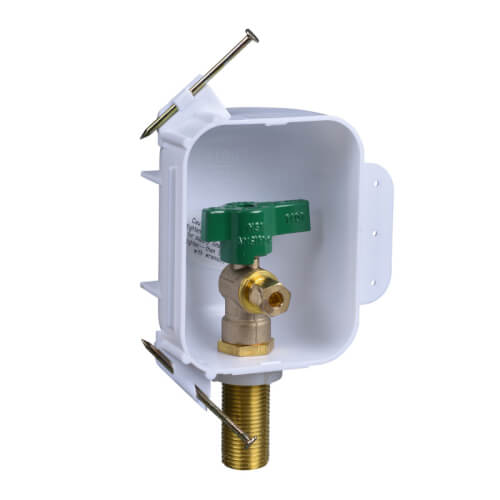 I2K Copper Ice Maker Outlet Box w/ 1/4 Turn, Low Lead (Contractor Pack) Product Image