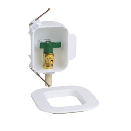 I2K CPVC Ice Maker Outlet Box w/ 1/4 Turn, Low Lead (Contractor Pack) Product Image