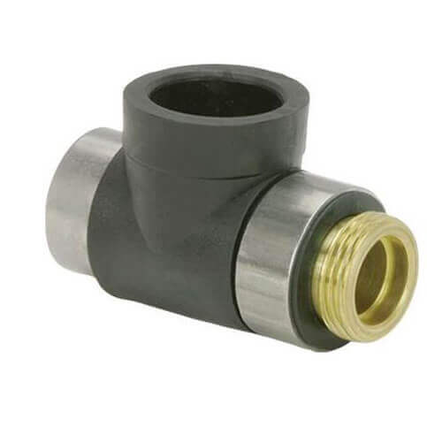 "1/2"" FPT x 1"" MNT x 1"" IPS GeoFusion Adapter Tee Product Image"