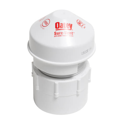 """6 DFU Sure-Vent Air Admittance Valve w/ 1-1/2"""" PVC Schedule 40 Adapter Product Image"""