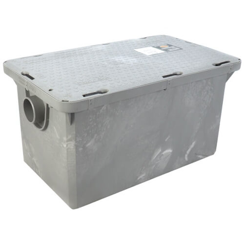 "Endura 25XT 50lb., 25 gpm Grease Trap (3"" Connection) Product Image"