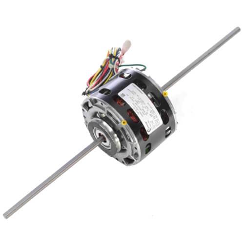 1/15-1/20-1/30-1/50 HP 115v Fan Coil Room Air Conditioner Motor, 1050 RPM, 4 Speed, 42 Frame, OAO Product Image