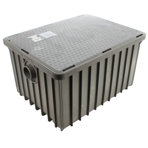 "70lb., 35 gpm Grease Trap (3"" Connection) Product Image"