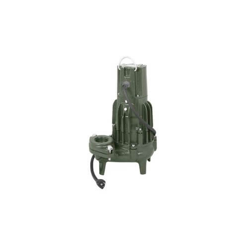 Model D295 Waste-Mate Automatic Cast Iron Sewage Pump - 230 V, 2 HP Product Image