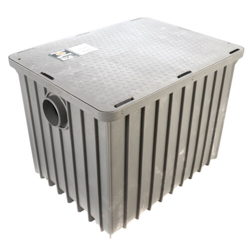 "100lb., 50 gpm Grease Trap (4"" Connection) Product Image"