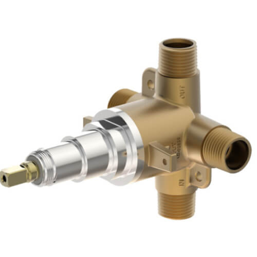 "1/2"" Temptrol Triple Outlet Diverter Valve (Sweat/Threaded) Product Image"