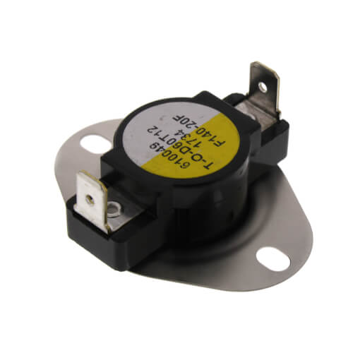"""3/4"""" Snap Disc Fan Control, Cut-In- 140 Degrees F, Cut-Out - 120 Degrees Product Image"""