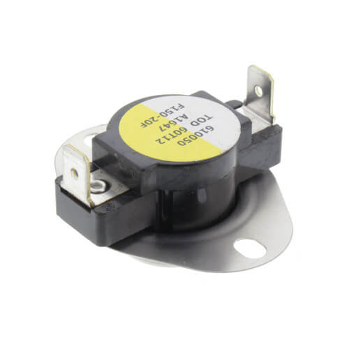 """3/4"""" Snap Disc Fan Control, Cut-In- 150 Degrees F, Cut-Out - 130 Degrees F Product Image"""
