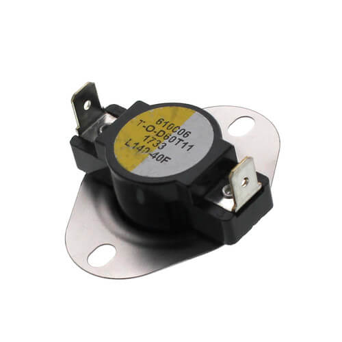 "3/4"" Snap Disc Limit Control, Cut-In- 100 Degrees F, Cut-Out - 140 Degrees F (Open on Rise) Product Image"