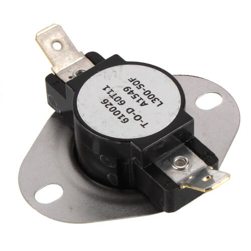 "3/4"" Snap Disc Limit Control, Cut-In- 250 Degrees F, Cut-Out - 300 Degrees F (Open on Rise) Product Image"
