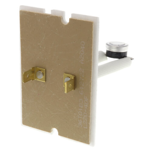 """1/2"""" Bimetal Disc Board Mount Limit Control, Opens At 220 Degrees F, Closes At 180 Degrees F Product Image"""