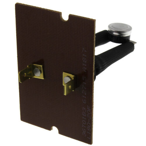 "1/2"" Bimetal Disc Board Mount Limit Control, Opens At 190 Degrees F, Closes At 170 Degrees F Product Image"