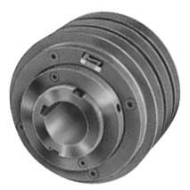 """3 Groove Variable Speed Sheave, A, B Belt, 1-5/8"""" Bore, 6.68"""" OD Product Image"""