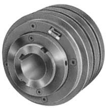 "3 Groove Variable Speed Sheave, A, B Belt, 1-5/8"" Bore, 7.18"" OD Product Image"
