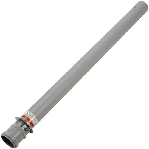 """3"""" x 36"""" PolyPro Single Wall Straight Pipe w/ Locking Clamp Product Image"""