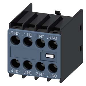 Auxiliary Switch Contact Block, 2NO/2NC, for 3RT2 Contactors Product Image