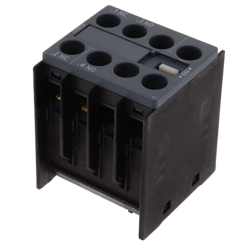 1 NO/NC Front Mounted Contactor, 20A Product Image