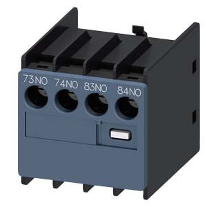 Auxiliary Switch Contact Block, 2NO, for 3RH & 3RT Contactors Product Image
