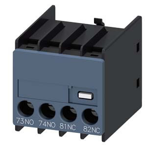 Auxiliary Switch Contact Block, 1NO/1NC, 1-Pole, for 3RH & 3RT Contactors Product Image