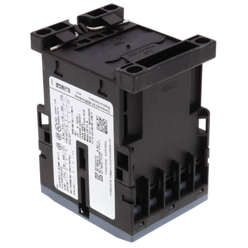 3 Pole 120V 9 Amp 1N/O Auxiliary Contactor Product Image