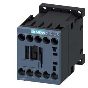 3 Pole, 12 Amp, 24V Power Contactor Product Image