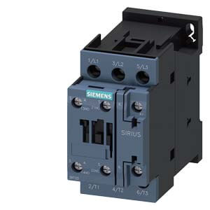 3 Pole, 12 Amp, 1NO/1NC, 24V Power Contactor Product Image