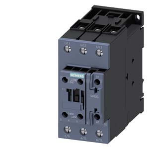 3 Pole, 50 Amp, 1NO/1NC, 110/120V Power Contactor Product Image
