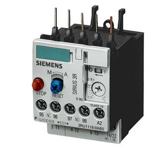 Overload Relay, Manual Auto Reset, Size S00, Class 10, 1.8-2.5 Amp Product Image