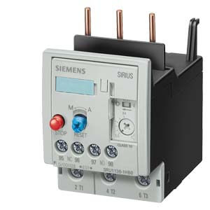 Overload Relay, Manual Auto Reset, Size S2, Class 10, 36-45 Amp Product Image