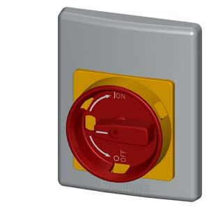 Emergency Stop Plastic Front Plate, Rotary Mechanism Product Image