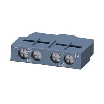 Auxiliary Switch, 1NO/1NC, Transverse, for 3RV2 Circuit Breakers Product Image